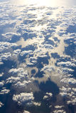 Clouds above ocean Royalty Free Stock Photography