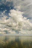 Clouds above sea. Stock Photo