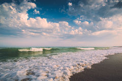 Clouds above the sea Royalty Free Stock Photo