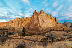Clouds Above Smith Rock Royalty Free Stock Image
