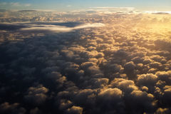 Above Clouds Royalty Free Stock Photos