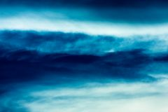 Clouds abstract Royalty Free Stock Photography