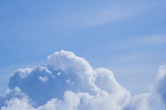 Clouds against a blue sky. Dreamy clouds Stock Images