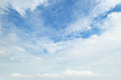 clouds against the blue sky Royalty Free Stock Images