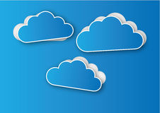 Clouds against a good Royalty Free Stock Images