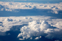 Clouds from air Royalty Free Stock Image