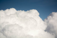 Clouds from aircraft Stock Photos