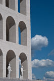 Clouds and arches Royalty Free Stock Image