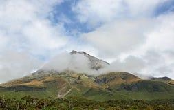 Clouds around Taranaki Stock Photography