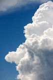 Clouds as a background Stock Photography