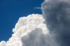 Clouds as a background Stock Image