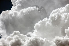 Clouds as a background Royalty Free Stock Images