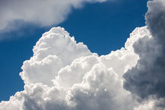 Clouds as a background Stock Images