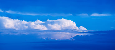 Clouds as background. Royalty Free Stock Image