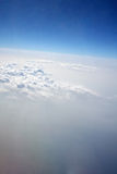 Clouds in Atmosphere Stock Image