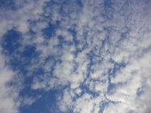 Clouds in autumn sky Royalty Free Stock Photography