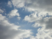 Clouds in autumn sky Stock Photography
