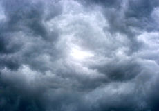 Clouds background. Texture of dark storm clouds royalty free stock images