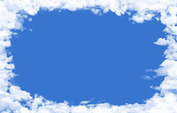 Clouds background. Image can be used for backgrounds for many things like posters, presentations etc Stock Photos
