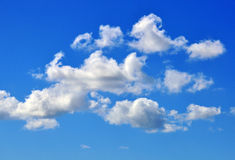 Clouds background Stock Image