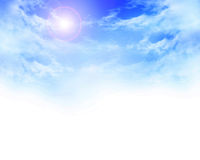 Clouds background Royalty Free Stock Images