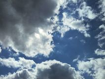 Clouds background Royalty Free Stock Photography