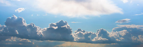 Clouds background Stock Images