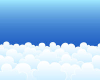 Clouds background Stock Photography