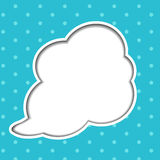 Clouds background with sun rays vector Royalty Free Stock Image