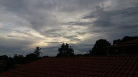 Clouds. Beautiful blue Stock Photos