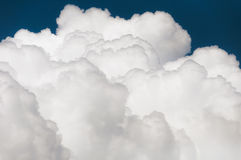 Clouds. Beautiful close-up of clouds in sunny day Stock Image