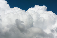 Clouds. Beautiful close-up of clouds in sunny day Royalty Free Stock Photos