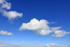 Clouds. Beautiful sky and clean clouds Royalty Free Stock Photo