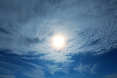 Clouds on a beautiful sky Royalty Free Stock Images