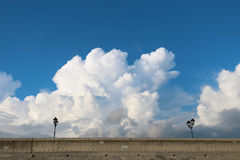 Clouds on a beautiful sky Stock Photography