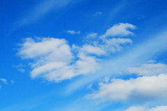 Clouds beauty Stock Photography
