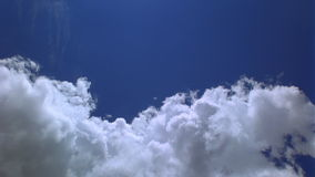 Clouds stock video