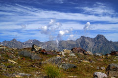 clouds berg royaltyfria foton
