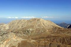 clouds bergskyen royaltyfri bild