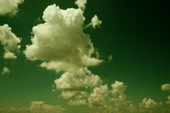 Clouds. Royalty Free Stock Image