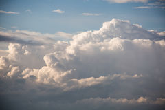 Clouds. Big clouds in the sky Stock Photo