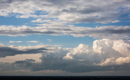 Clouds. Big clouds in the sky Royalty Free Stock Images