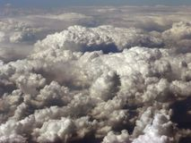 Clouds from birds eye view Stock Photos
