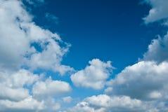 Clouds on blue sky Stock Photos