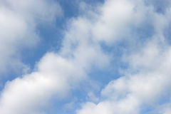 Clouds and Blue Sky Stock Image