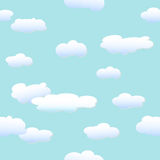 Clouds and blue sky. Background Stock Photos