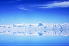 Clouds and blue sky stock images