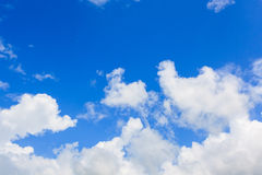 Clouds and blue sky. Clouds in the blue sky Royalty Free Stock Images