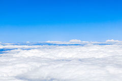 Clouds with blue sky Royalty Free Stock Photos