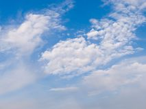 Clouds on blue sky Stock Image